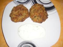 Gemüse-Hack-Frikadelen mit Joghurt-Minzsoße - Rezept