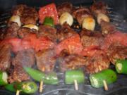 Lammspieße (Türkische Art) - Rezept