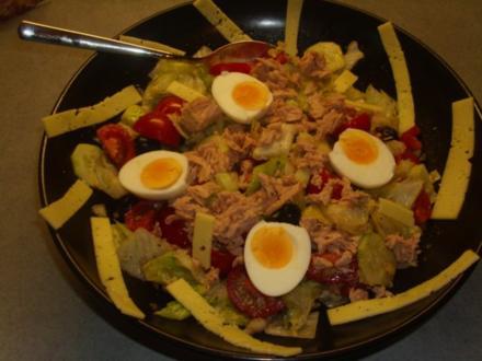 Gemischter Salat die 2. - Rezept