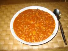 Mexicanische Bohnensuppe - Rezept