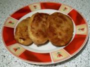 panierte / gebackene Kartoffeln - Rezept