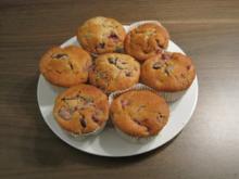 Schoko-Kirsch-Muffins - Rezept