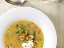 kartoffel getreide suppe - Rezept