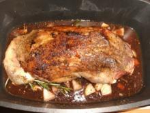 Fleisch: Lammschulter, geschmort, V.1 - Rezept