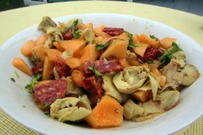 Chorizo-Salat [Partygerichte] - Rezept
