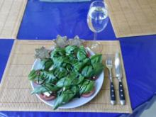 Salat: Tomatensalat Caprese - Rezept