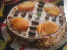 Pfirsich -Quark-Torte - Rezept