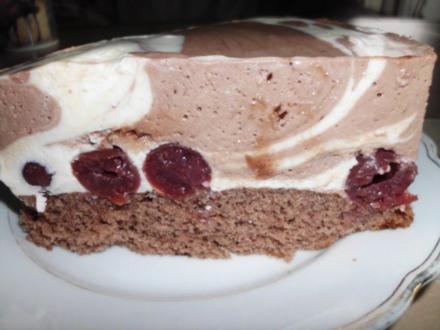 Quark-Kirsch-Torte - Rezept
