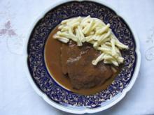 Fleisch: Milder Sauerbraten - Rezept