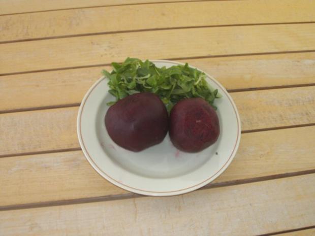 Salat: Feldsalat mit roter Beete - Rezept - Bild Nr. 2