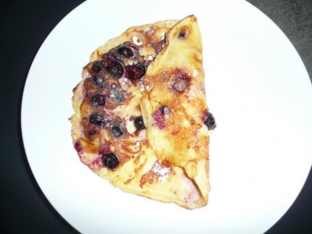 Blueberry Pancake - Rezept