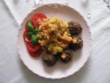 Fleisch: Frikadellen aus dem Backofen - Rezept