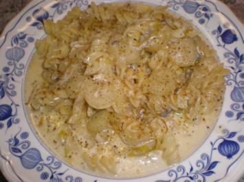 Rezept: Spirelli mit Chicorée-Pesto