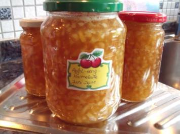 Honig-Apfel-Marmelade - Rezept