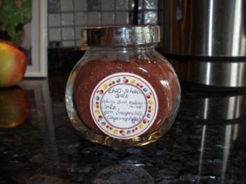 Gewürz: Chili-Schoko-Salz - Rezept