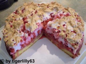 Johannisbeer-Baiser-Kuchen - Rezept