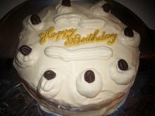 Backen: Mini-Mokka-Sahne-Torte - Rezept