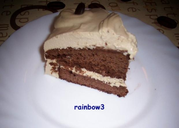 Backen: Mini-Mokka-Sahne-Torte - Rezept - Bild Nr. 13