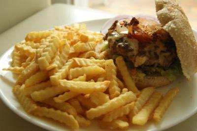 Chilli-Burger extra scharf - Rezept