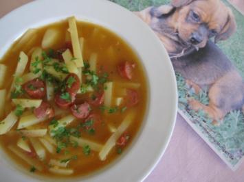 Kartoffelsuppe, dalmatinisch - Rezept