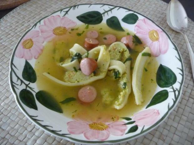 Suppen & Eintöpfe : Schnelle Maultaschensuppe - Rezept - Bild Nr. 3