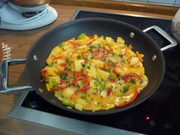 Rezept: Eierspeisen : Mein Bauernomlett