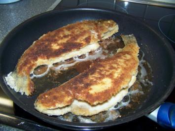 Fisch - Forelle mit Backkartoffel und Gurkensalat - Rezept