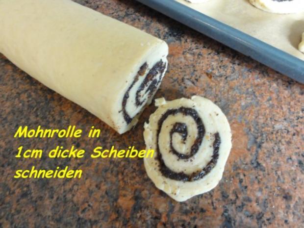 Hefe:    MOHNSCHNECKEN - Rezept - Bild Nr. 7