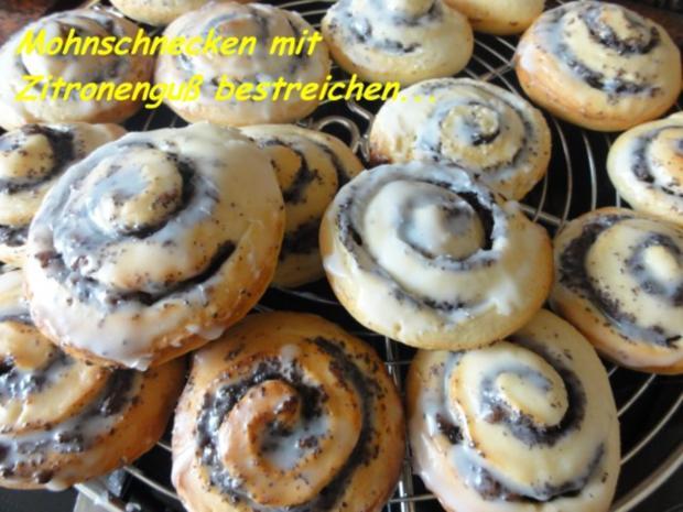 Hefe:    MOHNSCHNECKEN - Rezept - Bild Nr. 8