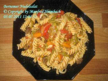 Salat – Bernemer Nudelsalat - Rezept
