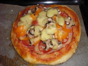 Mini - Pizzas - Rezept