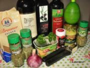 Grillmarinade mediterran - Rezept