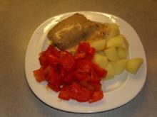 Rouladen mit Olivencreme und Schafskäse - Rezept