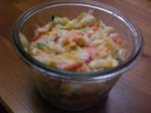 Kunterbunter Zucchinisalat - Rezept