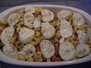 Rezept: Tortellini Auflauf