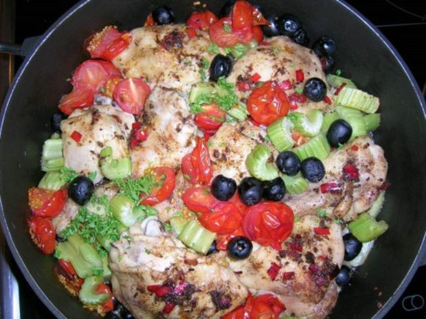 Sommerküche Zum Vorbereiten : Chili hähnchen mit schmor tomaten leichte sommerküche rezept
