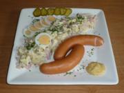 Sauerländer Kartoffelsalat mit Bockwurst - Rezept