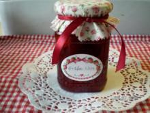 Erdbeer-Rhabarbermarmelade - Rezept