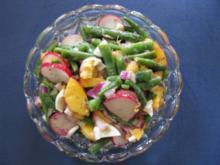 Einfacher Bohnensalat bei der Hitze aber mit Pfiff - Rezept