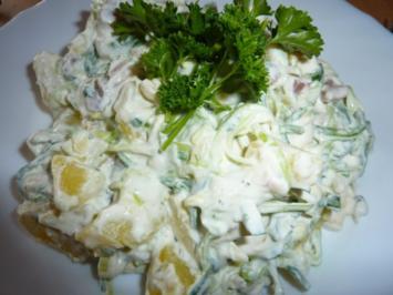 Salate: Kartoffel-Matjes-Salat - Rezept
