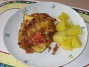 Zucchini-Hackfleisch-Auflauf - Rezept
