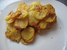 Kartoffel-Sesam-Chips (Beilage) - Rezept