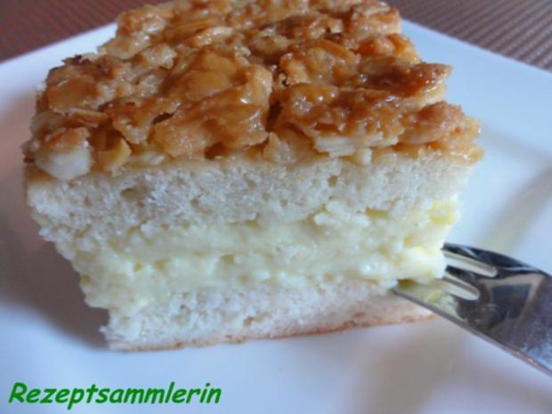 Hefe Bienenstich Mit Puddingfullung Rezept Kochbar De