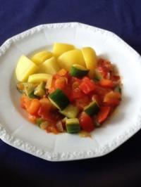 schnelle Gemüsepfanne - Rezept