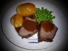 Kochen: Rinderbraten mit Kräutern - Rezept