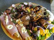 leichter bunter Sommersalat zum sattessen BEI DER HITZE IDEAL - Rezept