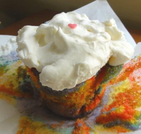 Regenbogen Cupcakes - Rezept - Bild Nr. 7