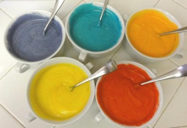 Regenbogen Cupcakes - Rezept - Bild Nr. 3