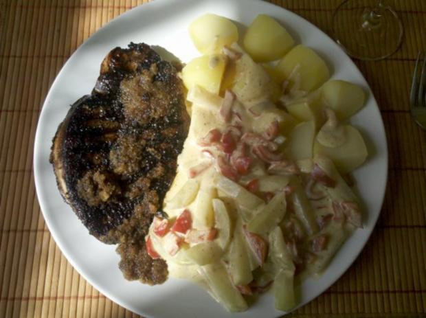 Geflügel: Putenschnitzel mit Paprika-Kohlrabi-Sahne - Rezept - Bild Nr. 7