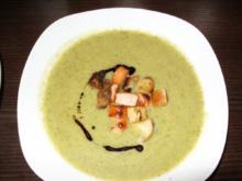 Zucchini - Pak choi - Suppe - Rezept